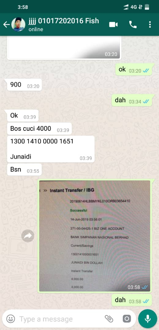 Customer cuci 4000 jackpot